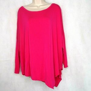 Gaiam Athletic Lounge Top Yoga Women Size M Pink
